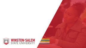 Branded Powerpoint Templates Winston Salem State University