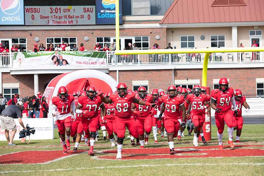 Wssu Named Top Football Program In N C Winston Salem State University