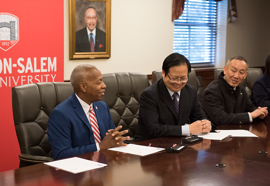 Collaborative Nursing Student Handbook ~ Wssu nursing expands partnership with chinese university