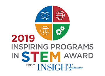 Logo: 2019 Inspiring Programs in STEM Award from INSIGHT Into Diversity