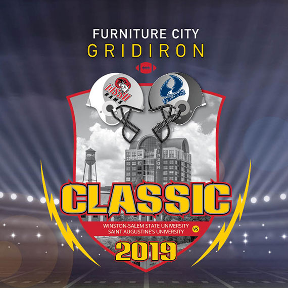 Furniture City Gridiron Classic - Winston-Salem State University Vs. Saint Augustine's University 2019